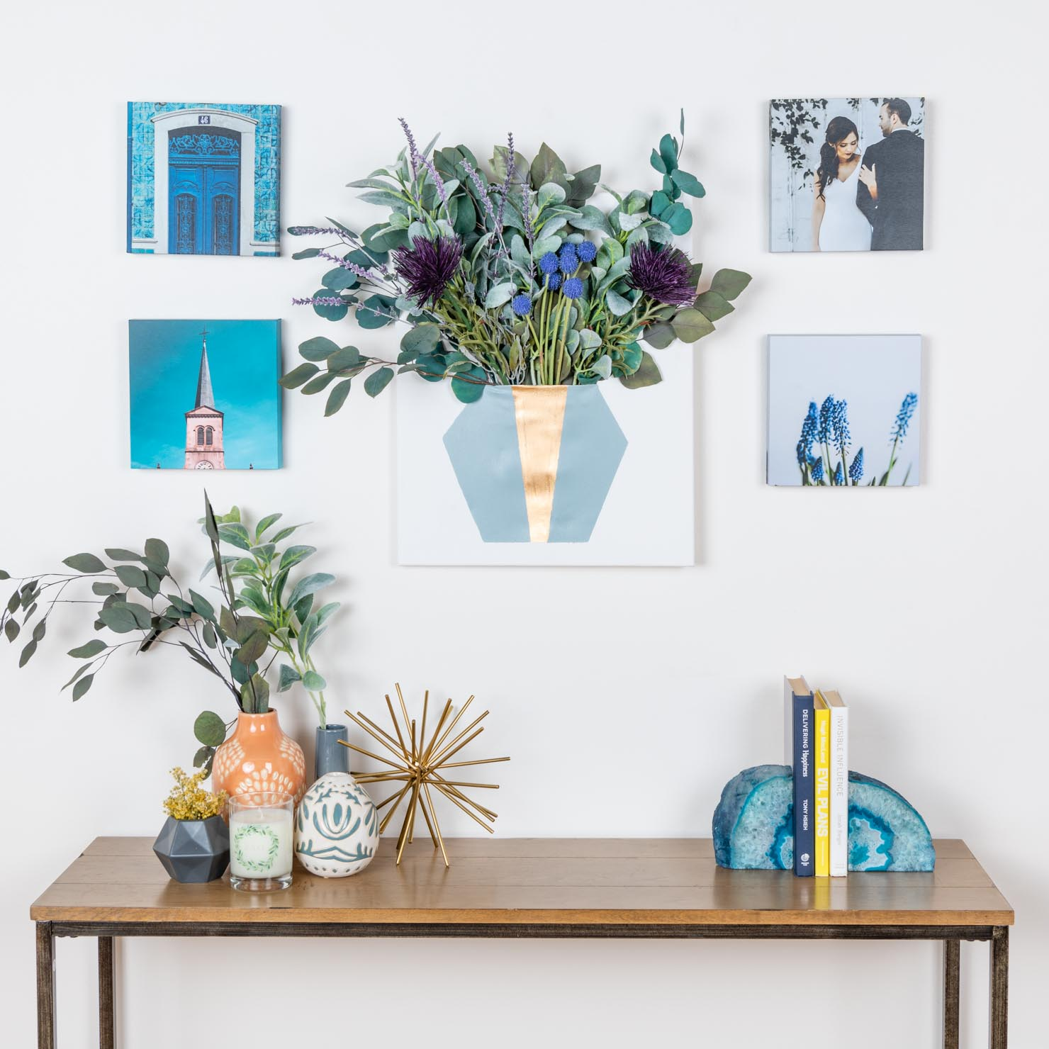 How to Decorate an Empty Wall