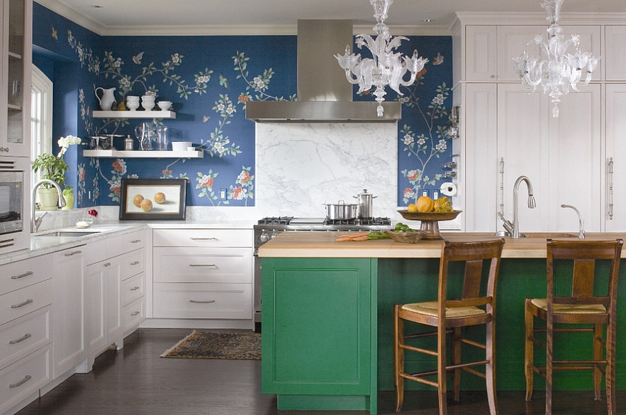 Five Insanely Fun Ways to Wallpaper Your Kitchen