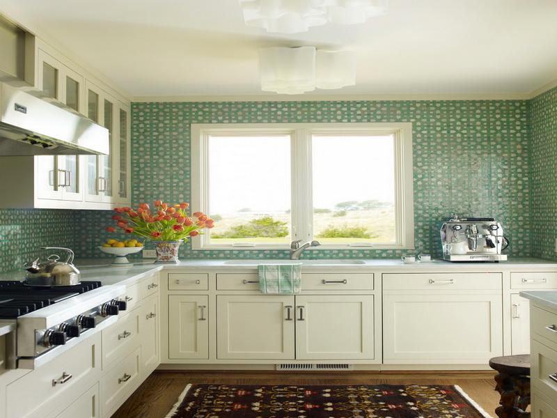 Five Insanely Fun Ways to Wallpaper Your Kitchen dull