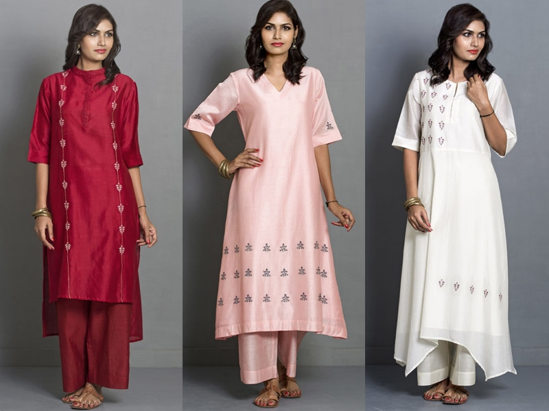 Indian Salwar Kameez & The Fusion Fashion pink