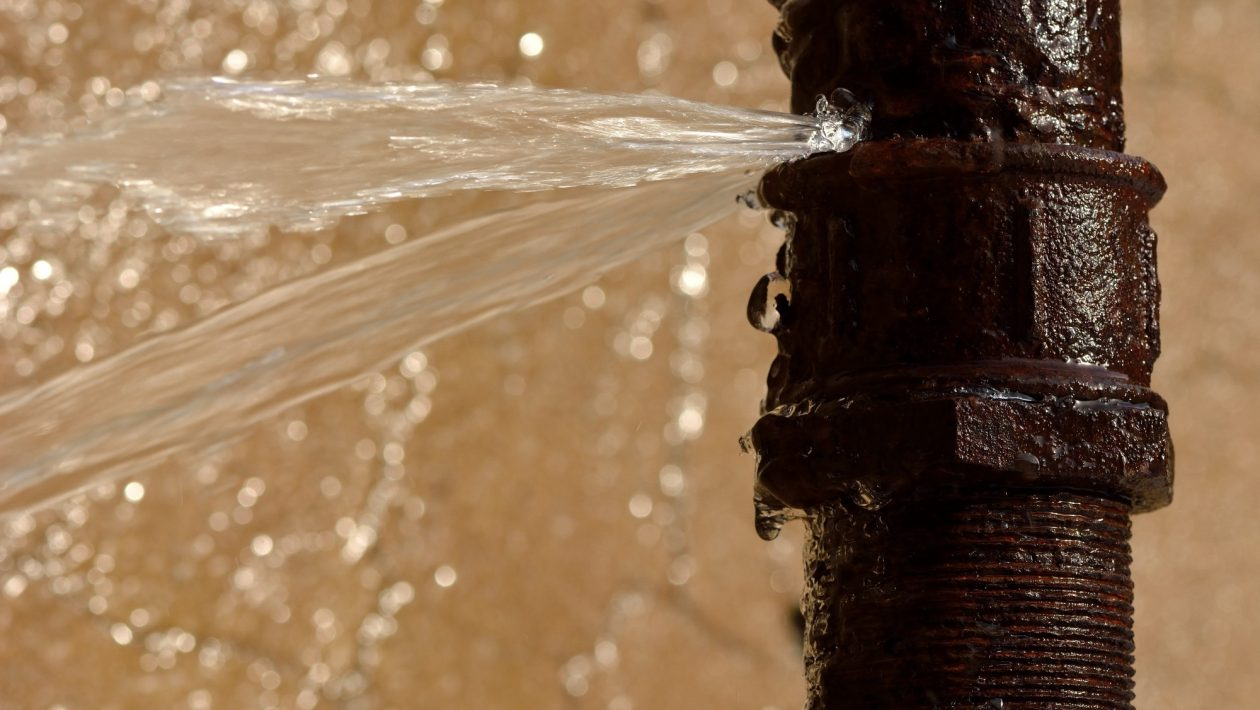 It's Raining in the House! Here's What to Do If a Water Pipe Breaks