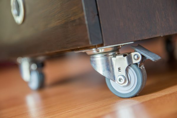 Vintage Industrial: 4 DIY Home Projects with Cool Casters