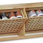 Wood shoe rack for your modern home
