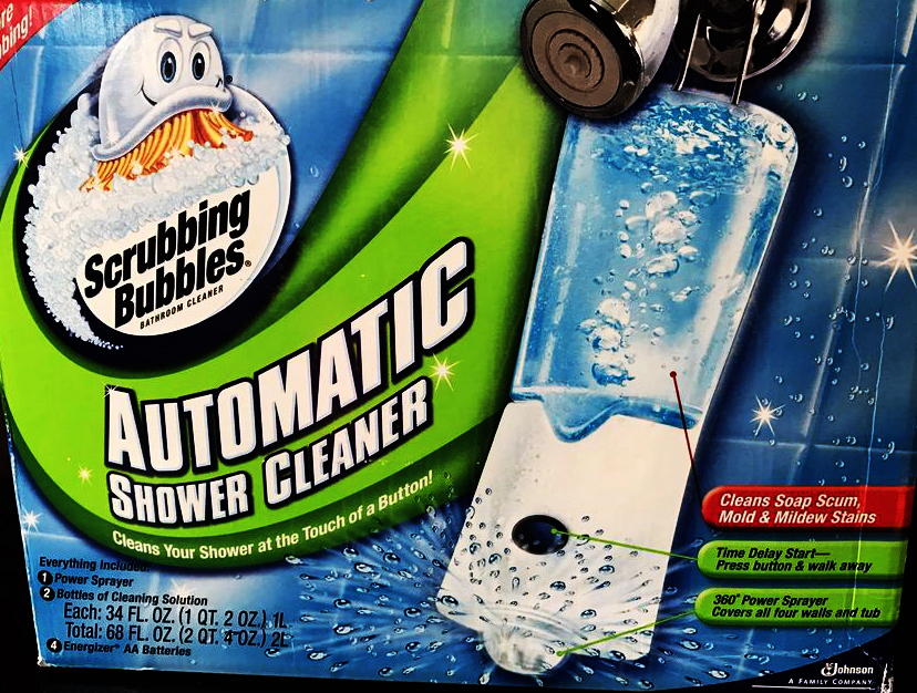 automatic shower cleaner