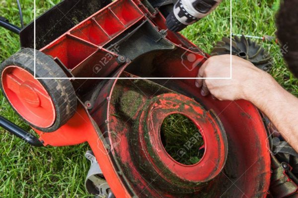 lawnmower repairing