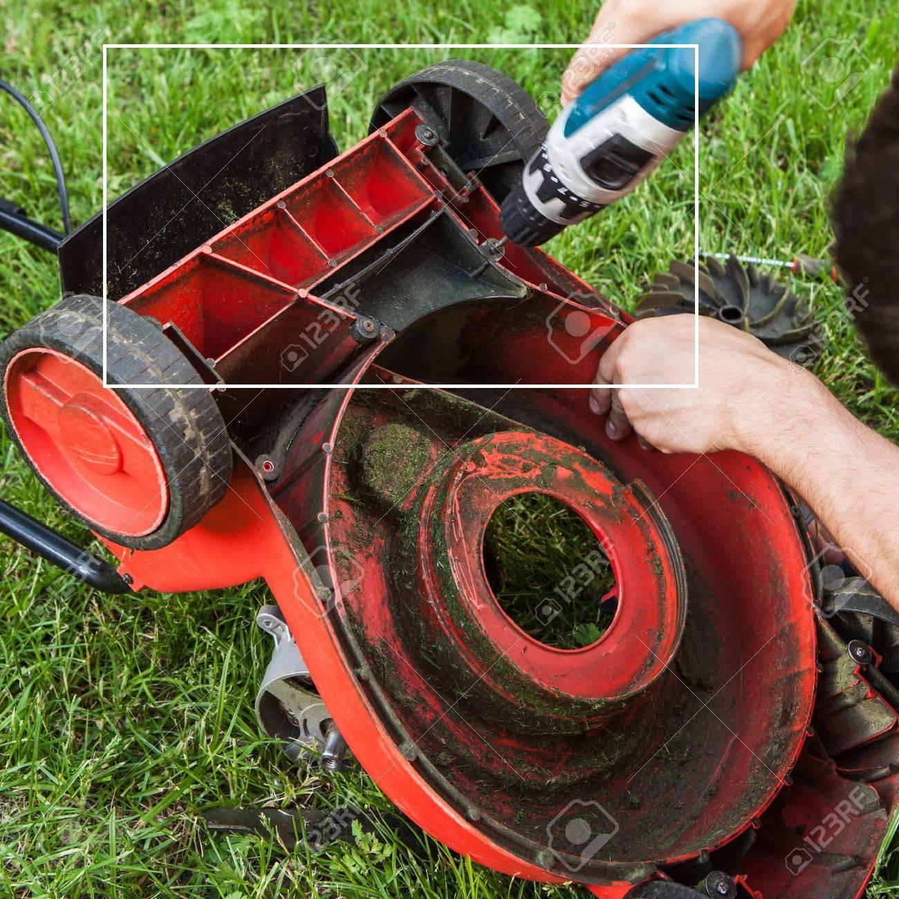 lawnmower repairing