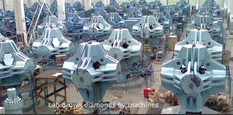 Diamonds are Lab-grown