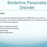 borderline personality disorder treatment