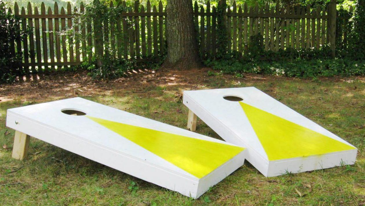 cornhole board plans