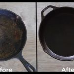 How to clean cast iron skillet step by step