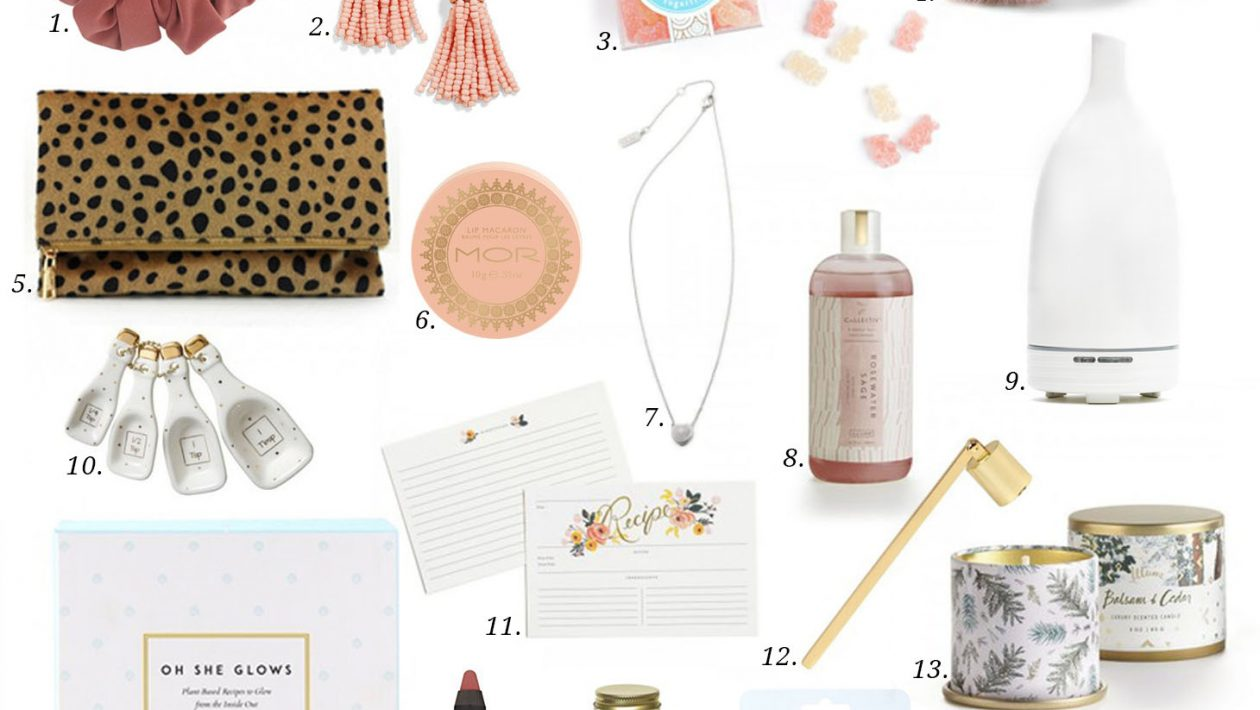 stocking stuffer ideas for women