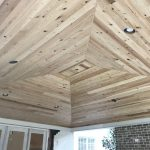 Tongue and Groove Ceiling Planks: Process of installation