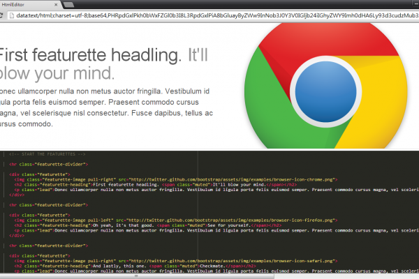 real time html editor