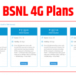 Bsnl 4g Data Plans- Never Miss A Great Opportunity.