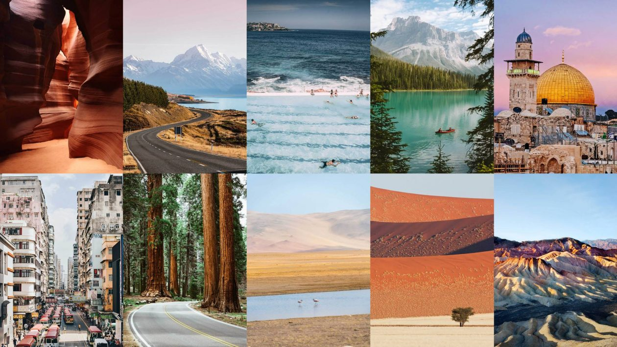top 50 travel destinations in the world