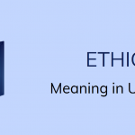 Meaning Of Ethics In Urdu Meaning with Definitions
